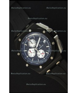 Audemars Piguet Royal Oak Offshore Chronograph Swiss Quartz Replica Watch PVD Case