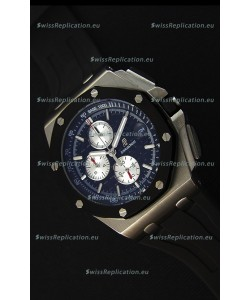 Audemars Piguet Royal Oak Offshore Chronograph Swiss Quartz Replica Watch Stainless Steel Case