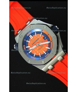 Audemars Piguet Royal Oak Offshore Diver Japanese Automatic Replica Watch in Orange