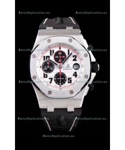 Audemars Piguet Royal Oak Offshore Chronograph Panda - 1:1 Mirror Ultimate Edition - Updated Version with 3126 Movement