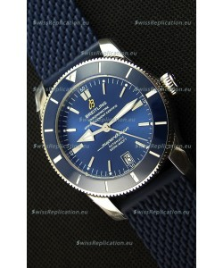 Breitling SuperOcean Heritage II B20 42MM Blue Dial Swiss Replica Watch - 1:1 Mirror Edition