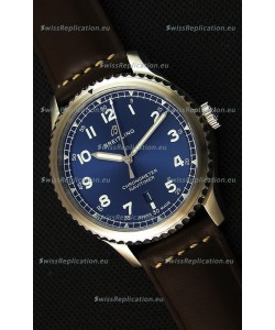 Breitling Navitimer 8 Automatic 41MM Swiss Replica Watch in Blue Dial