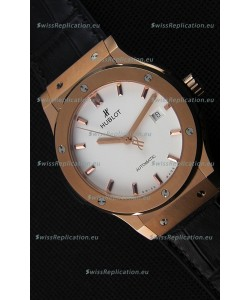 Hublot Classic Fusion King Gold Opalin Swiss Replica Watch - 1:1 Mirror Replica