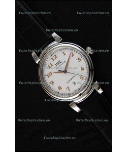 IWC Schaffhausen DA Vinci IW356601 Automatic Swiss Watch White Dial 1:1 Mirror Replica