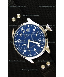 IWC Big Pilot Annual Calendar IW502702 Spitfire Blue Dial Swiss 1:1 Mirror Replica