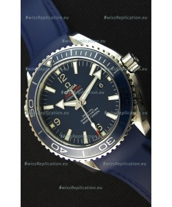 Omega Seamaster Planet Ocean Swiss Blue Strap Replica 45MM 1:1 Ultimate Edition Watch