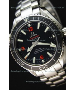 Omega Seamaster Planet Ocean Swiss Black Strap Replica 42MM 1:1 Ultimate Edition Watch