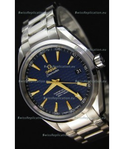 Omega Seamaster Aqua Terra Co-Axial Blue Limited Edition Swiss 1:1 Mirror Replica