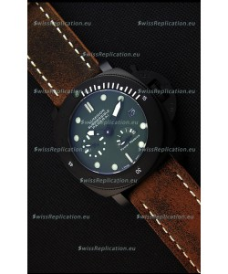 Panerai Luminor Submersible Power Reserve PVD Japanese Replica Watch