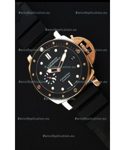 Panerai Luminor Submersible 3 days PAM684 Rose Gold Swiss 1:1 Mirror Replica Watch