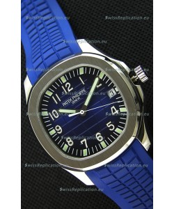 Patek Philippe Aquanaut 5168G-001 Swiss Replica Watch Blue Dial - 1:1 Mirror Edition