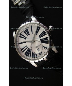 Roger Dubuis Excalibur RDDBEX0460 Steel White Swiss Replica Watch