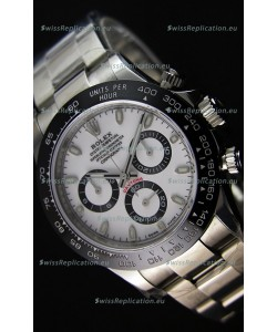 Rolex Cosmograph Daytona 116500LN White Dial Original Cal.4130 Movement - Ultimate 904L Steel Watch