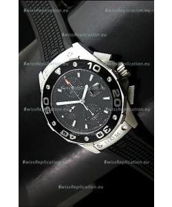 Tag Heuer Aquaracer Calibre 16 Swiss Watch in Black Dial
