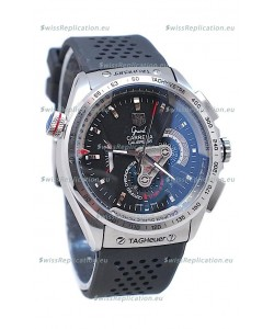 Tag Heuer Grand Carrera Calibre 36 Japanese Automatic Watch in Black Dial