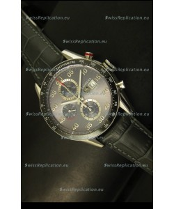 Tag Heuer Carrera Calibre 1887 Grey Dial Watch - 1:1 Mirror Replica