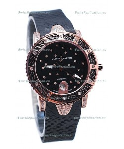 Ulysse Nardin Diver Starry Night Pink Gold Watch