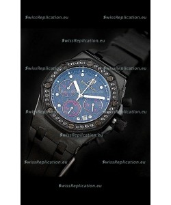 Audemars Piguet Royal Oak Offshore Lady Alinghi Swiss Watch in Blue Dial