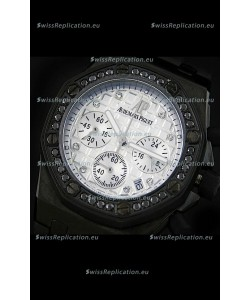 Audemars Piguet Royal Oak Offshore Lady Alinghi Swiss Watch in White Dial
