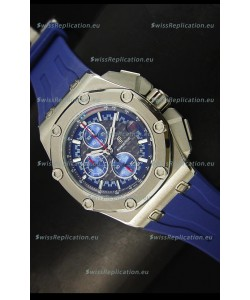 Audemars Piguet Royal Oak Offshore Michael Schumacher Quartz Movement Watch in Blue