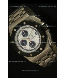 Audemars Piguet Royal Oak Offshore Watch in White Dial - Steel Case