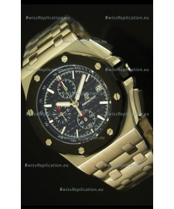 Audemars Piguet Royal Oak Offshore Watch in Black Dial - Steel Case