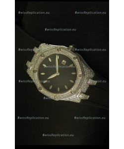 Audemars Piguet Royal Oak Ladies Watch in Black
