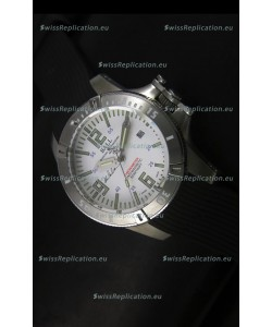 Ball Hydrocarbon Spacemaster Automatic Rubber Strap in White Dial - Original Citizen Movement