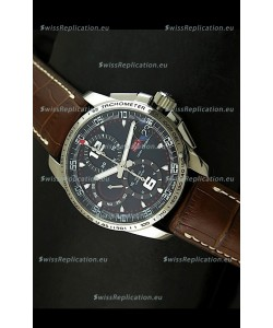 Chopard Mille Miglia GT XL Swiss Replica Watch in Brown Leather Strap - MIRROR REPLICA
