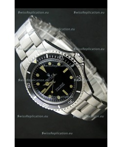 Rolex Submariner Classic Edition No Date Window Swiss Watch