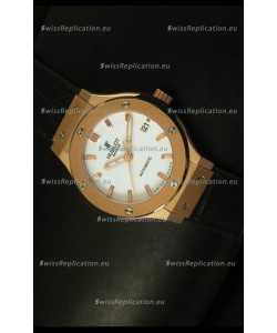 Hublot Classic Fusion 39MM Rose Gold Swiss Watch
