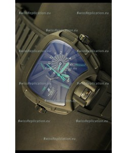 Hublot Big Bang MP 02 Key of Time Edition Japanese Watch in PVD Case