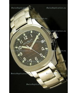 Patek Philippe 5167 Aquanaut Jumbo Swiss Replica Watch - 1:1 Mirror Replica Brown Dial