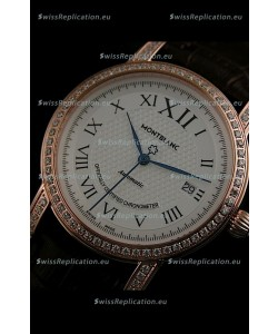 Mont Blanc Swiss Automatic Watch in Rose Gold
