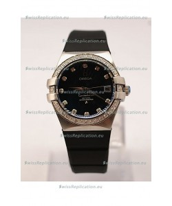 Omega Constellation Ladies Replica Watch - Steel Case - 35MM