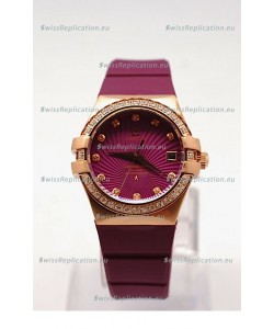 Omega Constellation Ladies Replica Watch - 35MM