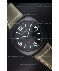 Panerai Radiomir PAM00643 Ceramica 45MM Swiss Watch - Unitas Movement
