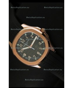Patek Philippe Aquanaut Rose Gold in Grey Dial Watch - 1:1 Mirror Replica