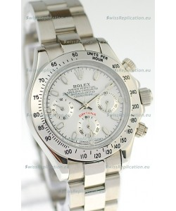 Rolex Daytona Silver Ladies Replica Watch