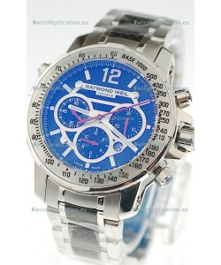 Raymond Weil Nabucco Exceptional Architectural Power Swiss Replica Watch in Blue Dial