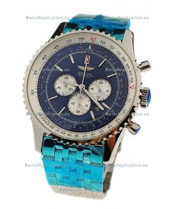 Breitling Navitimer Chronometre Japanese Watch in Steel Strap