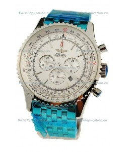 Breitling Navitimer Chronometre Japanese Watch in White Dial
