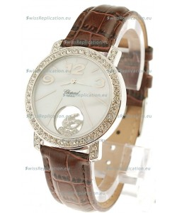 Chopard Happy Diamond Swiss Replica Watch in Diamond Bezel
