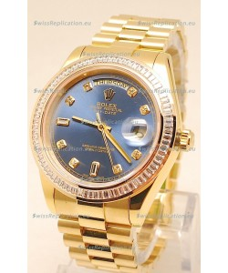 Rolex Day Date II Gold Japanese Replica Watch
