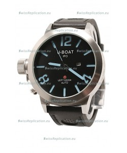U-Boat Classico Japanese Replica Watch in Black Dial