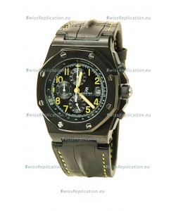 Audemars Piguet Royal Oak Offshore End of Days Japanese Replica Black Watch