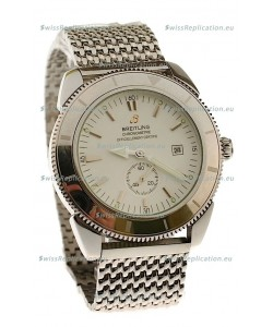 Breitling Chronometre Japanese Replica Automatic Watch in Steel Strap