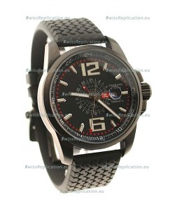Chopard 1000 Miglia GT XL GMT Japanese Replica PVD Watch