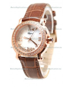 Chopard Happy Sport Ladies Swiss Replica Watch