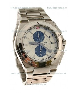 IWC Ingenieur Chronograph Japanese Watch in White Dial